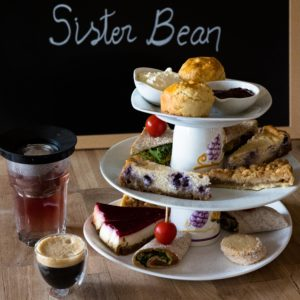 sister bean afternoon tea